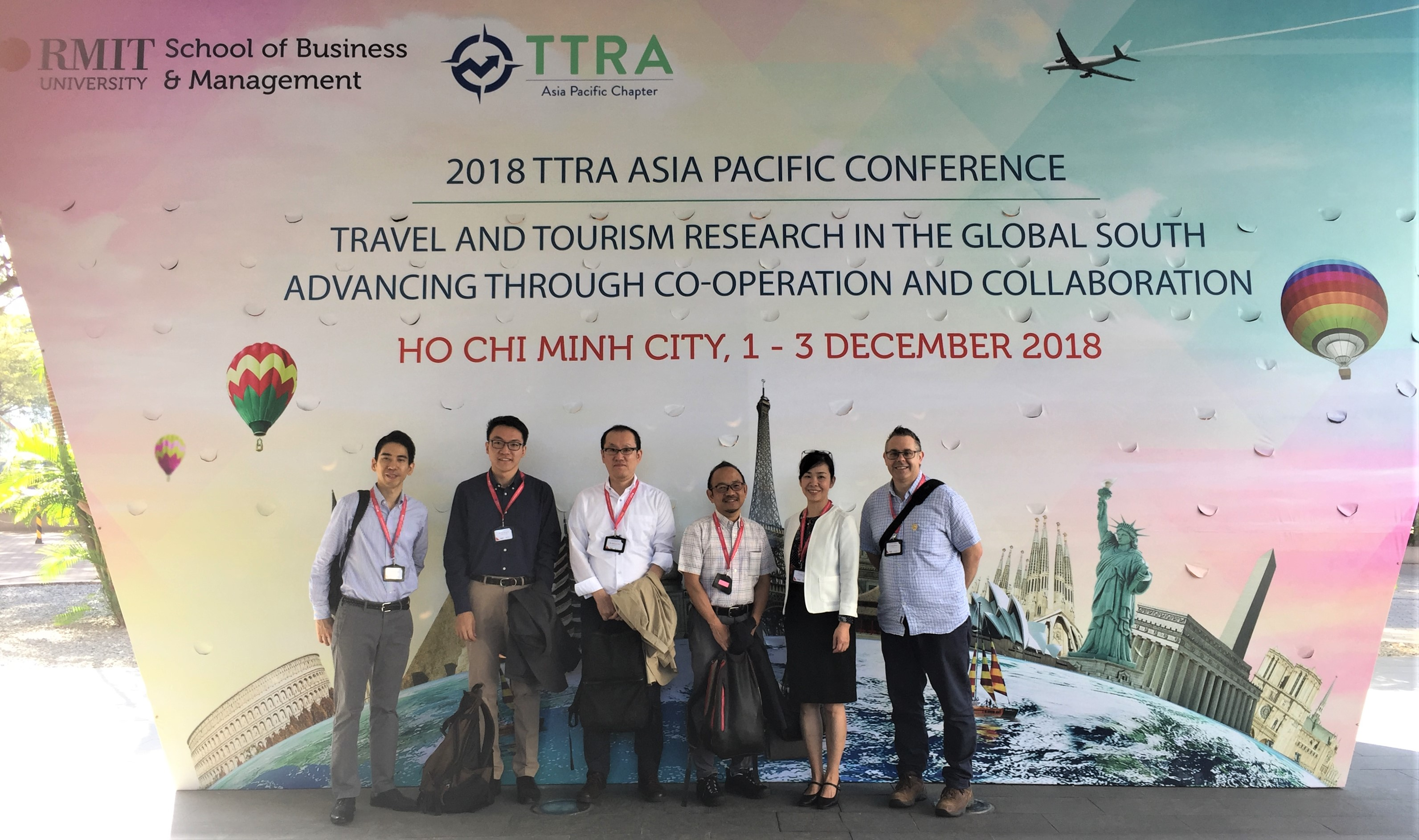 Conference presentation] Presented papers at the 6th TTRA-APac